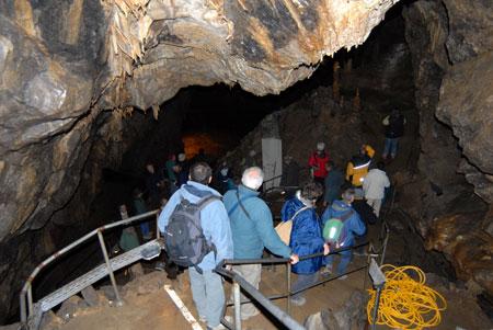 Grotte touristique
