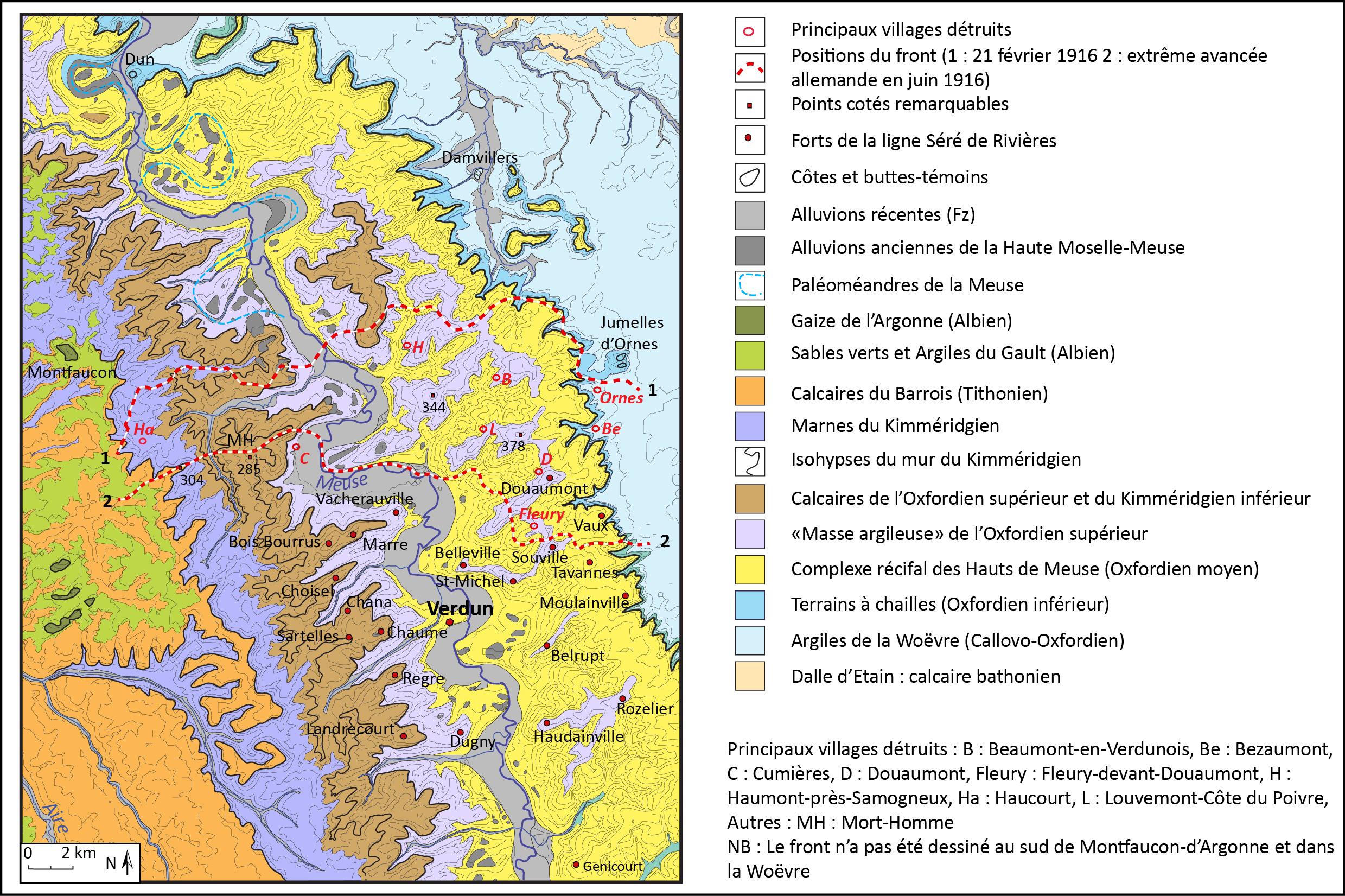 Carte Verdun