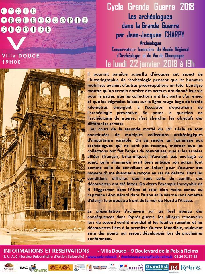 Archéologie Conférence